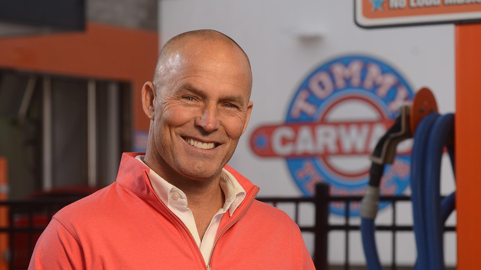 Photo of Tom Miller, President of The Car Wash Companies