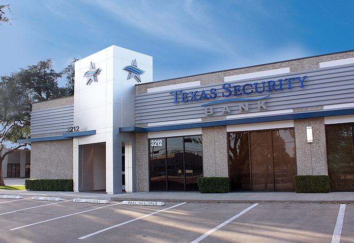 Texas Security Bank, Farmers Branch, Texas