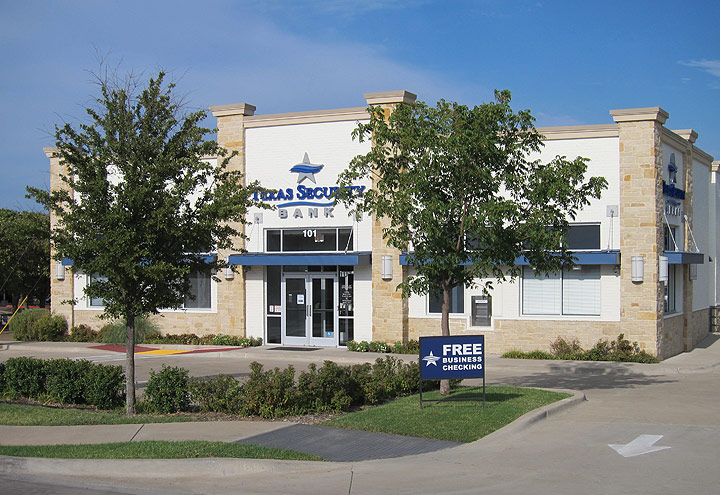 Texas Security Bank, Garland, Texas