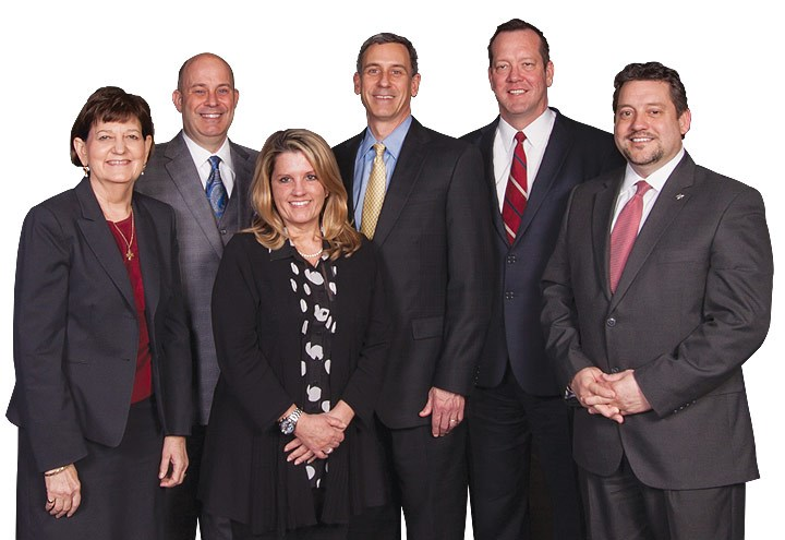 Group photo of the bank's leadership team