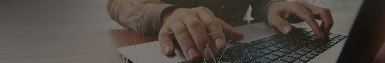 Header image - fingers on a keyboard