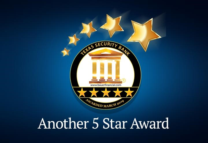 Bauer five star award for 2019